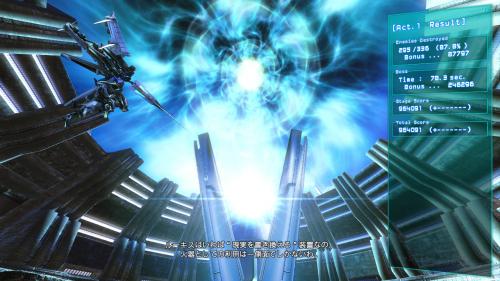 ステージクリア時はリザルトを表示しすつもシームレスに会話が続き、超空間ドライブで次の「Act」へ
